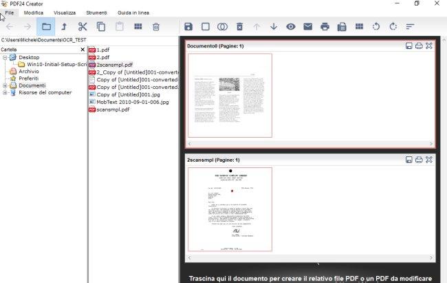 PDF24 ovvero come creare file PDF in Windows