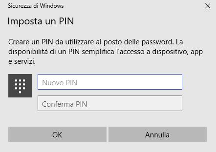 Il PIN di Windows 10 è sicuro?
