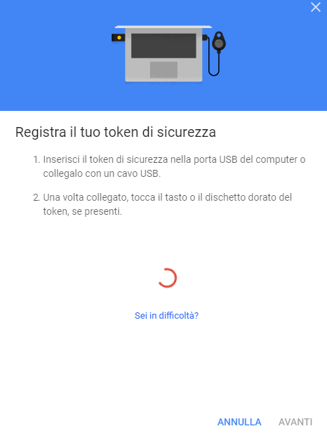 Accedere a Google, Gmail e Dropbox senza digitare password