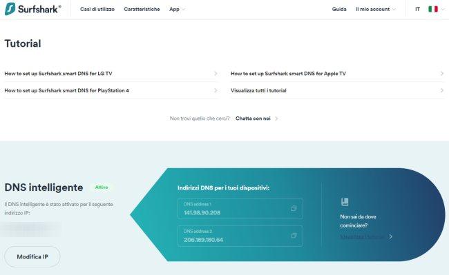 VPN, quali le caratteristiche più utili: l'esempio Surfshark