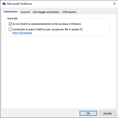 Accedere a OneDrive da Windows 10 come unit� di rete