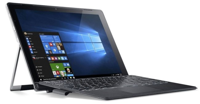 Acer Switch Alpha 12, convertibile raffreddato a liquido