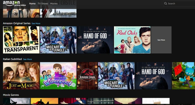 Amazon Prime Video in Italia, gratis per chi usa Prime