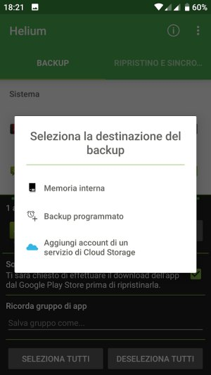 App backup su Android: come si fa