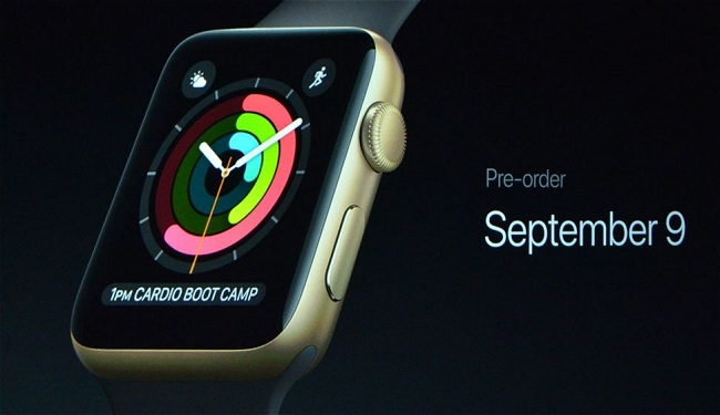 Apple Watch Series 2, ecco il nuovo smartwatch Apple