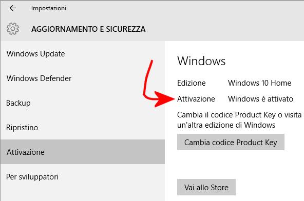 come attivare windows 10