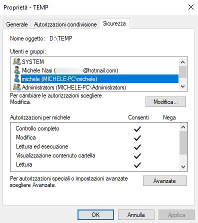 Autorizzazioni cartelle condivise in Windows: come gestirle