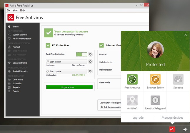 Avira 2016 download e difesa contro programmi superflui