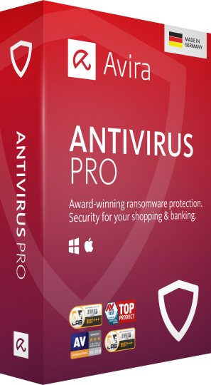 Avira antivirus in offerta con un Product Key di Windows 10 Pro in omaggio
