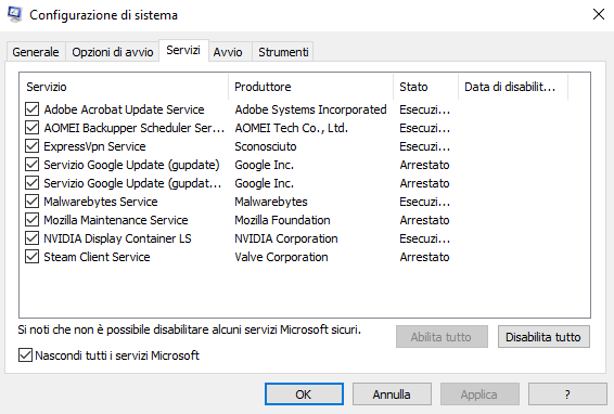 Avvio pulito Windows 10: a cosa serve e quando è utile
