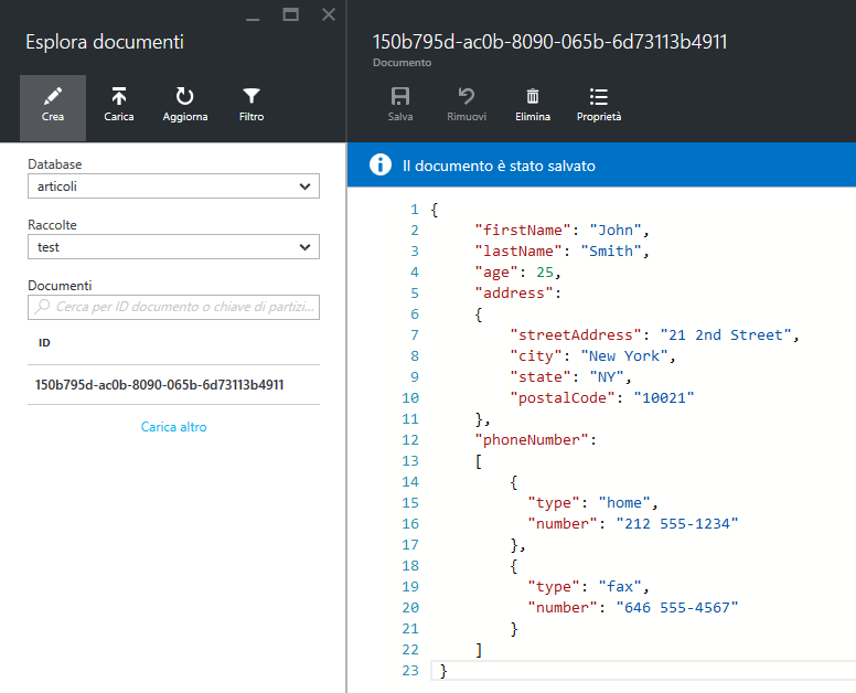 La piattaforma dati di Azure: oltre SQL Server con DocumentDB. Introduzione a Data Lake