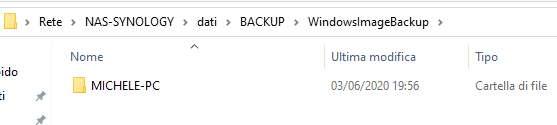 Backup completo del sistema senza installare nulla in Windows
