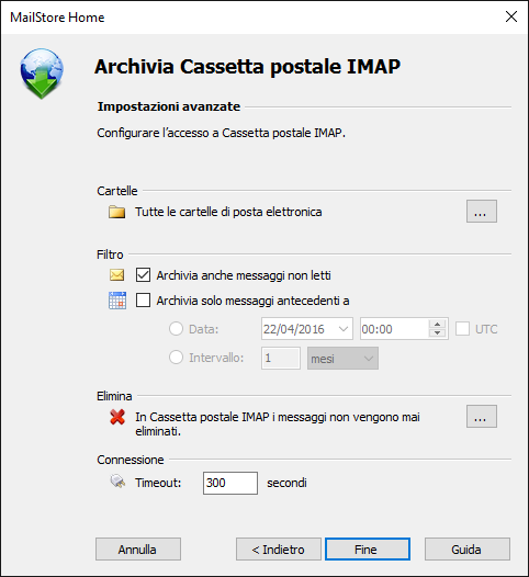 Backup Outlook, Gmail e posta elettronica in generale