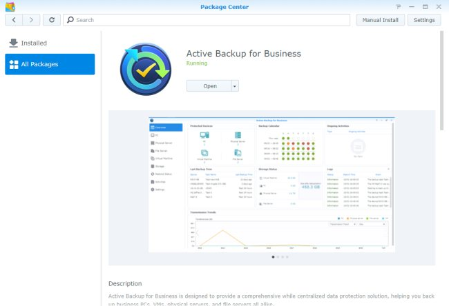 Cos'è e come funziona Synology Active Backup for Business