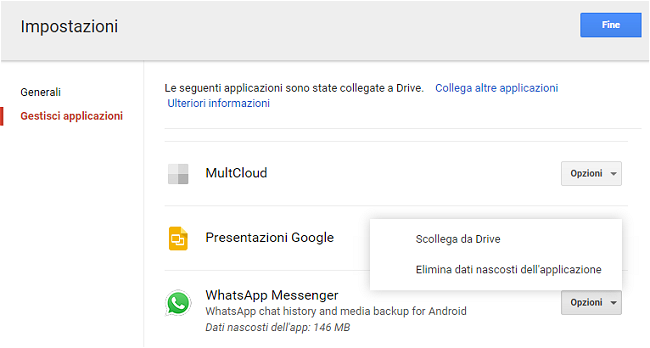 Backup WhatsApp su Google Drive, come funziona