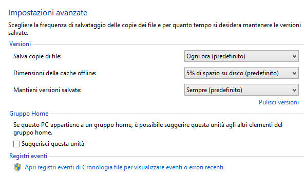Backup Windows 8.1: come funziona e come si usa