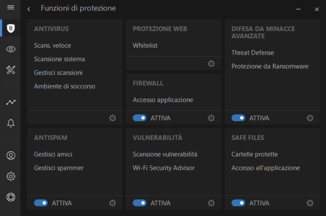 Bitdefender Internet Security 2018: proteggere Windows a 360 gradi