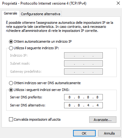 Cambiare DNS in Windows, Linux, macOS e Android