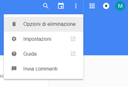 Cancellare la cronologia di Google Now