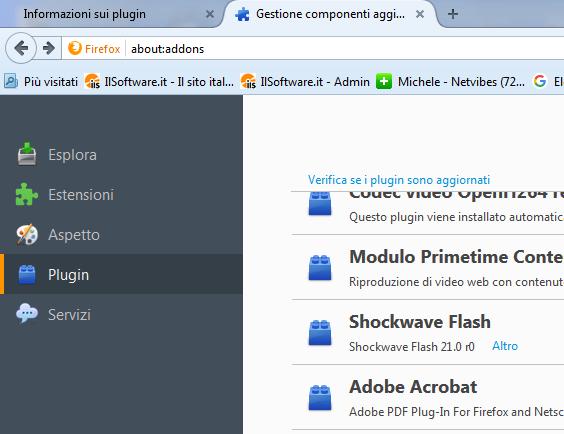 Usare Java e Silverlight se il browser non li supporta più