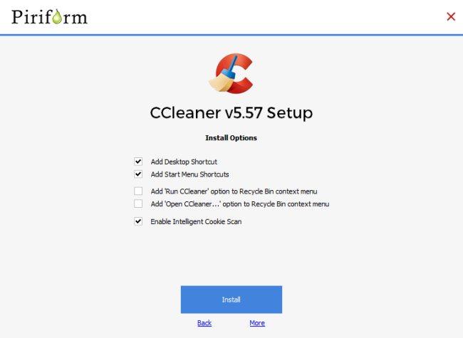 CCleaner introduce la pulizia del sistema semplificata