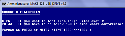 Chiavetta USB bootable, come prepararla