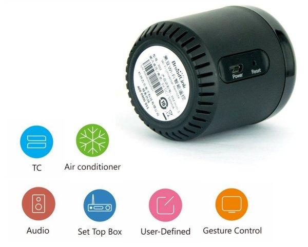 Comandare a distanza climatizzatore sistemi audio e illuminazione