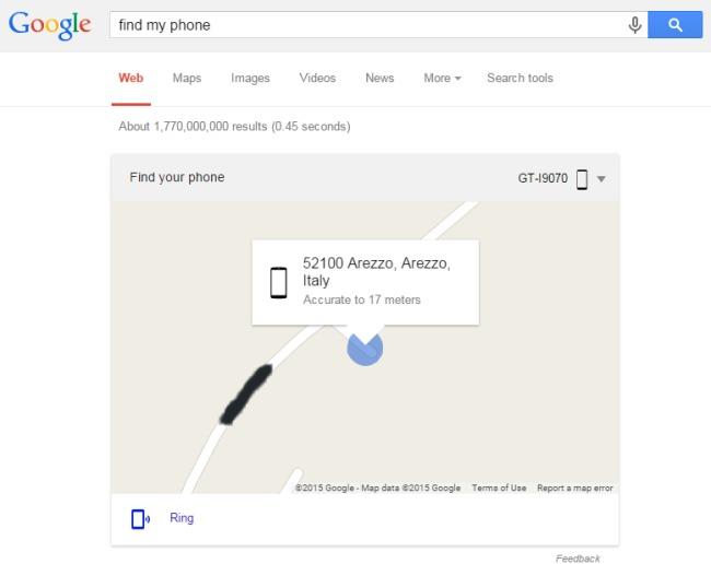 come localizzare un cellulare inserendo il numero