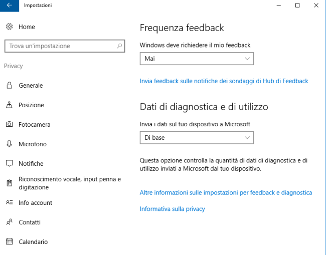 Connessione lenta con Windows 10
