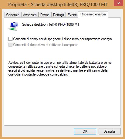 Connessione limitata o assente in Windows 8.1: come risolvere