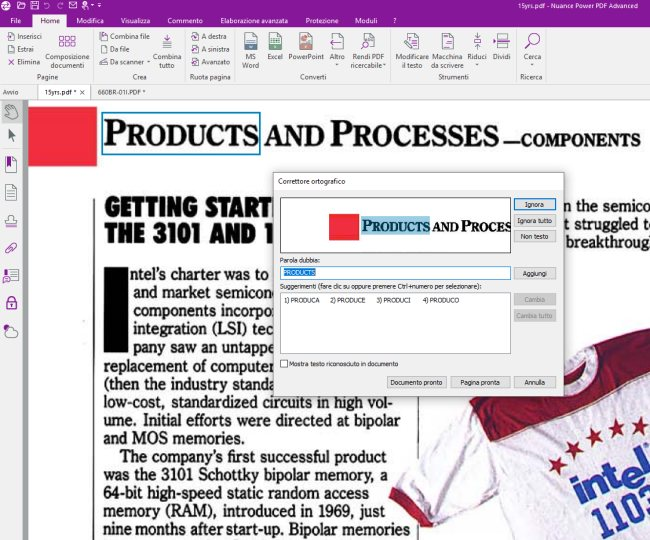 Convertire PDF in Word e modificare i documenti con Nuance Power PDF 3