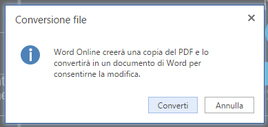 Come convertire PDF in Word