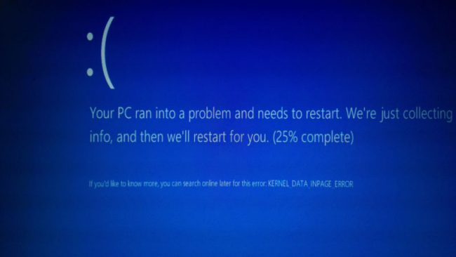 Un bug nel driver NTFS di Windows 7 e Windows 8.1 manda in crash il sistema
