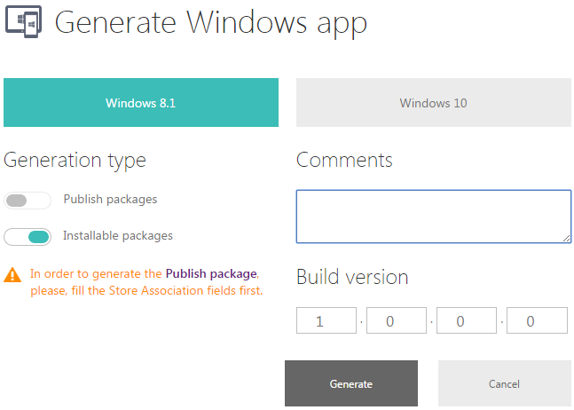 Sviluppare una app universale per Windows 8.1 e Windows 10