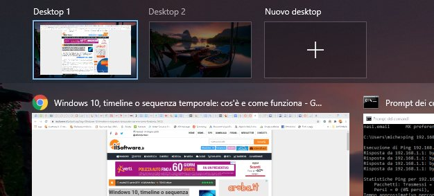 Desktop virtuali: come utilizzarli in Windows 10