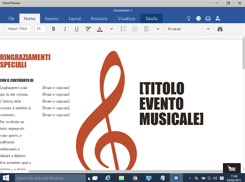 Scaricare Word, Excel e PowerPoint per Windows 10 in anteprima