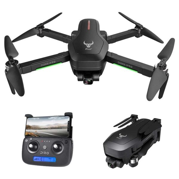 Drone SG906 PRO con GPS, supporto video 4K e TV box smart Android H6 in offerta