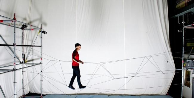 Droni usati per costruire ponti, esperimento italo-elvetico