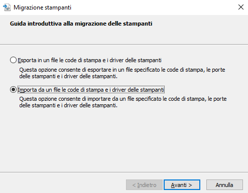 Come esportare driver stampante e code di stampa in Windows
