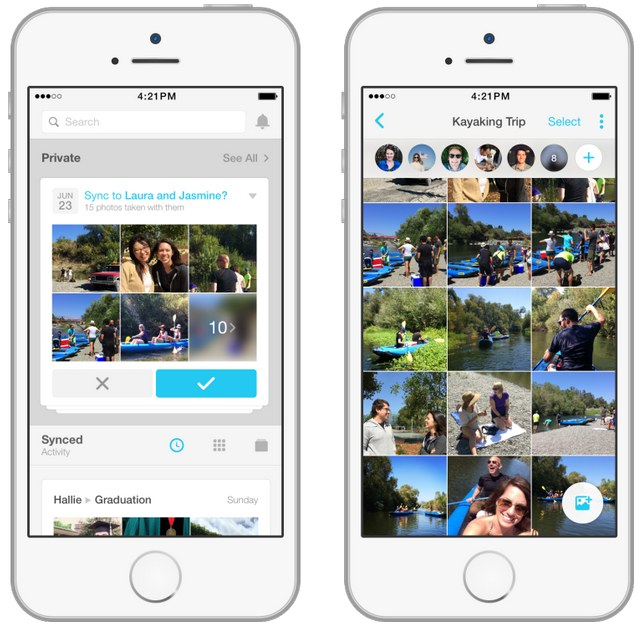 Facebook Moments aiuta a sincronizzare le foto