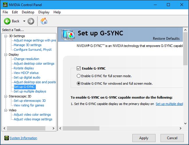 FreeSync a braccetto con G-SYNC: NVidia presenta la modalità compatibile