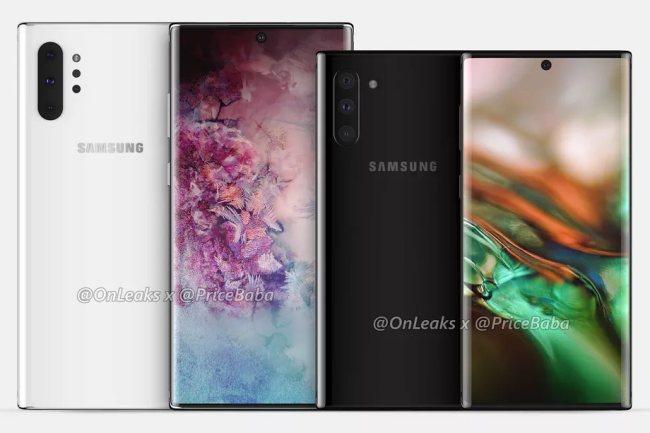 Samsung Galaxy Note 10, presentazione fissata per il 7 agosto