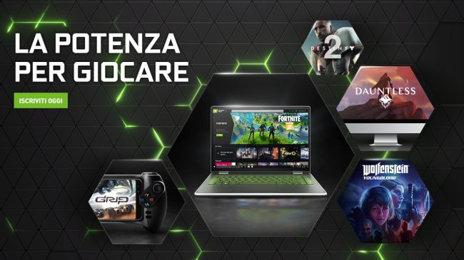 NVidia GeForce NOW: la piattaforma gaming basata sul cloud è accessibile a tutti