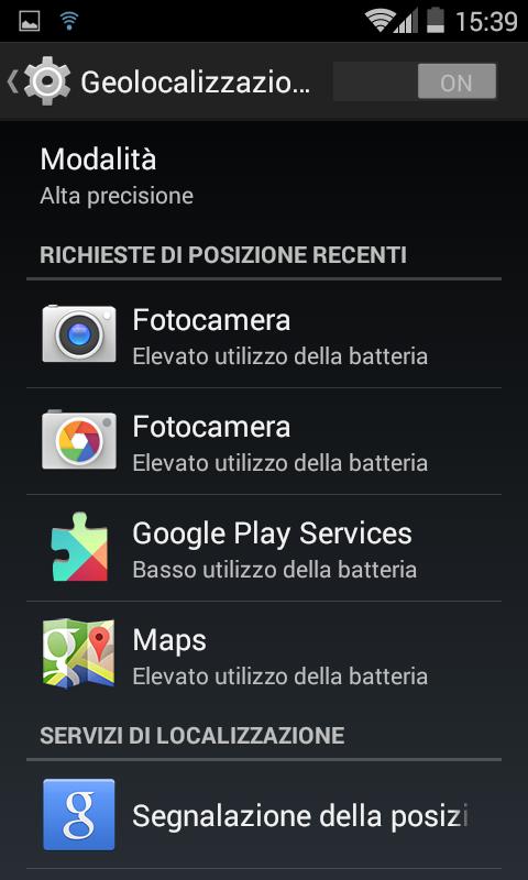 Datazione Android GPS