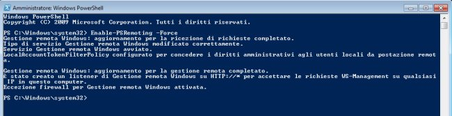 Gestire PC in rete locale con PowerShell