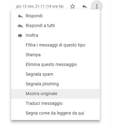 Attenzione ai messaggi ricevuti su Gmail: potrebbero non pervenire dai mittenti indicati