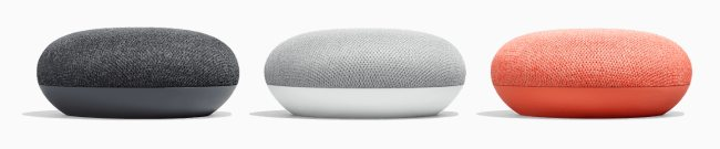 Google Home e Google Home Mini disponibili in Italia a partire da 59 euro