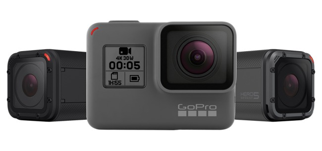 GoPro presenta le action camera Hero 5 Black e Session