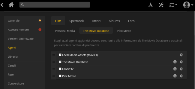 Guida Plex, come installare il server multimediale universale