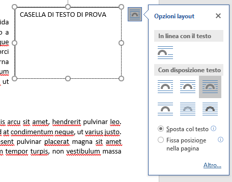 Guida Word: casella di testo, interlinea, spaziatura tra paragrafi e note